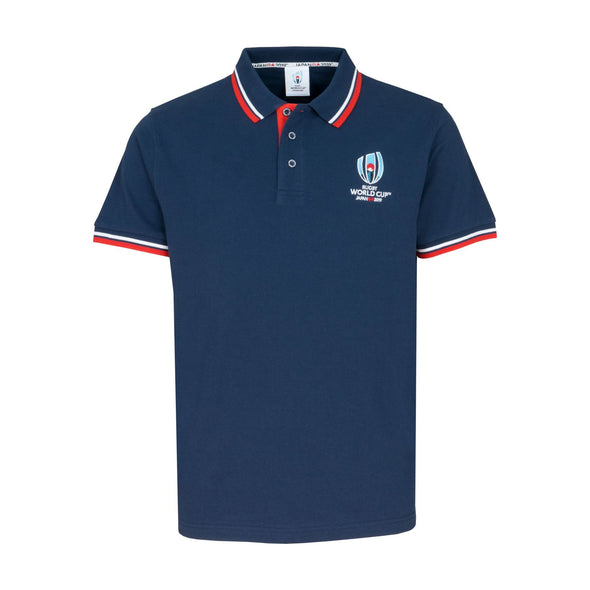Rugby World Cup 2019 Men's Classic Pique Polo | Navy