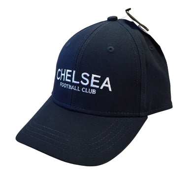 Chelsea FC Text Baseball Cap | Blue | 2021 | Adult