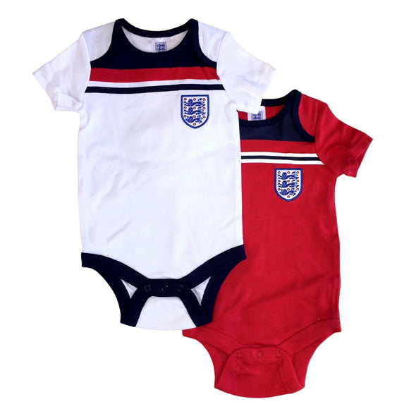 England Football 1982 Retro Baby 2 Pack Bodysuits | 2021