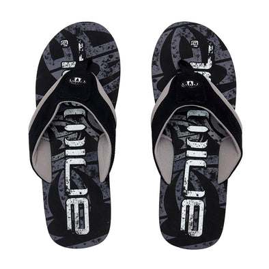 Animal Mens Jekyl Logo Flip Flops | Black