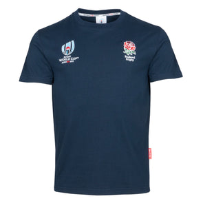 Rugby World Cup 2019 England Men's T-Shirt | Navy