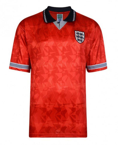 England Football Retro 1990 World Cup Finals Away Shirt
