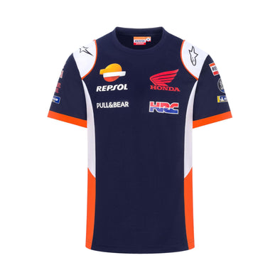 Repsol Honda HRC Mens Replica T-Shirt | Navy | 2020