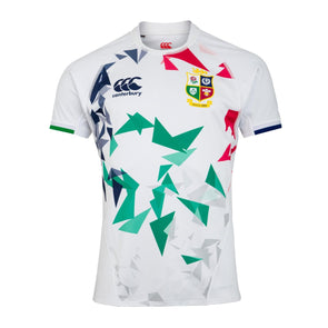 Canterbury British & Irish Lions Rugby Training Jersey | Mens | White | 2021