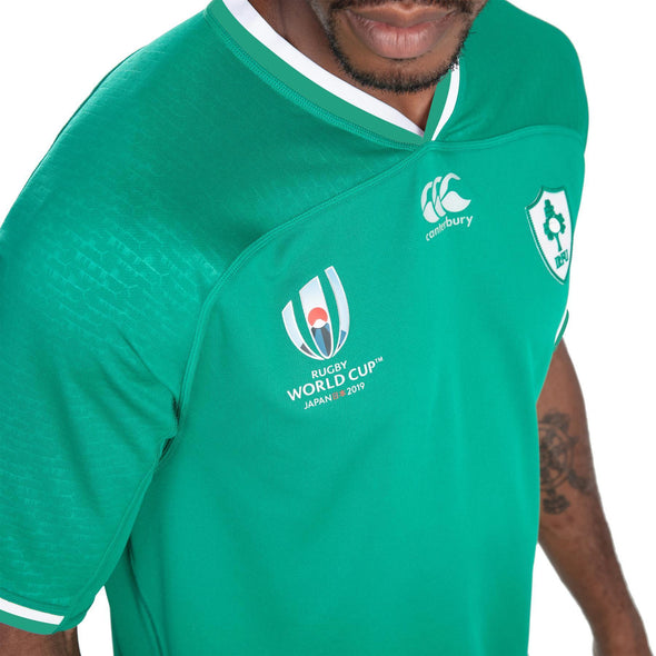 Canterbury Rugby World Cup 2019 Ireland Home Pro Shirt | Bosphorus | Adult