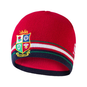 Canterbury British & Irish Lions Rugby Beanie Hat | Tango Red | 2021 | Adult