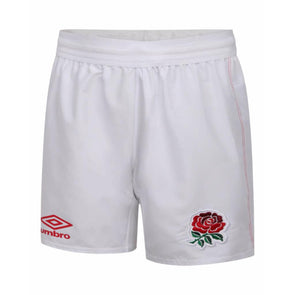 Umbro England RFU Rugby Home Shorts | White | 2020/21 | Junior