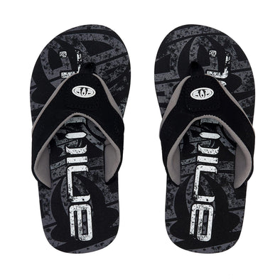 Animal Boys Jekyl Logo Flip Flops | Black