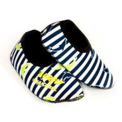 Jakabel Baby/Kids Dolphin Stripe Neoprene Shoes - Navy
