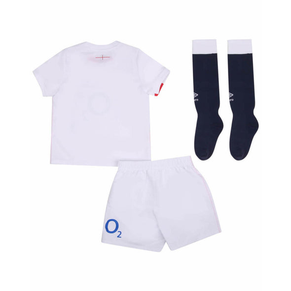 Umbro England RFU Rugby Home Junior Mini Kit | White | 2020/21