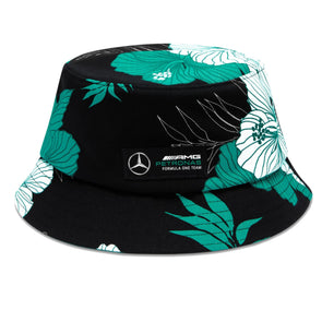 Mercedes AMG Petronas Hawaiian Bucket Hat | Multi | Adult | 2021