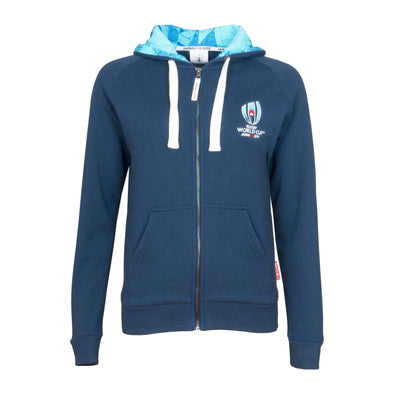 Rugby World Cup 2019 Women's Full Zip Hoodie | Navy