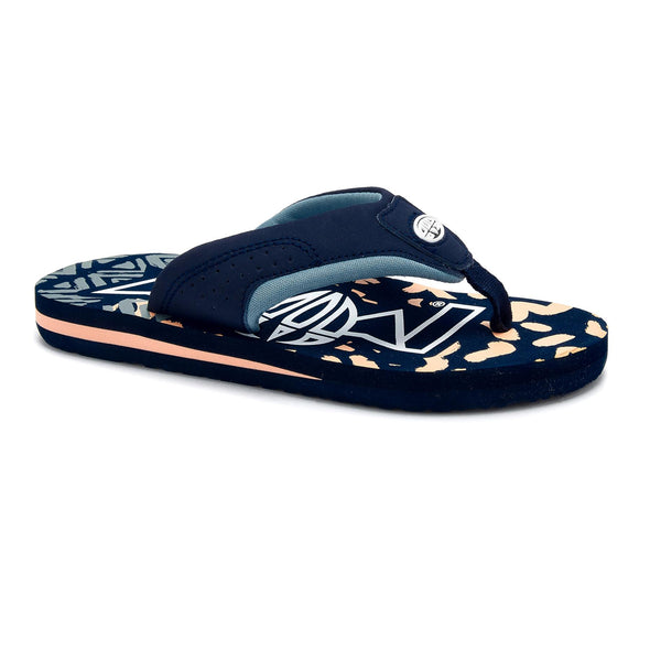 Animal Boys Jekyl Logo Flip Flops | Multi