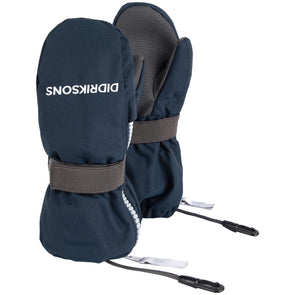 Didriksons Biggles 3 Waterproof Zip Mittens | Navy