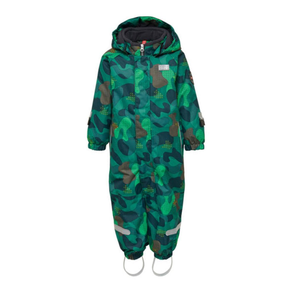 LEGO Wear Julian Toddler/Infant Snowsuit | Dark Green