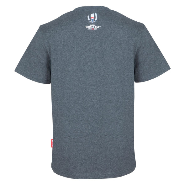 Rugby World Cup 2019 Kids Core Values Graphic T-shirt | Grey