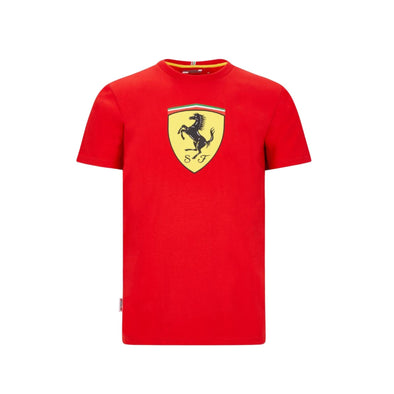 Scuderia Ferrari Men's Large Shield T-Shirt | Red | 2020