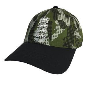 ECB England Cricket Fashion Baseball Cap | Camo | 2019 | Adult