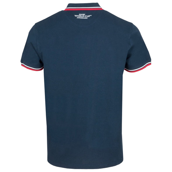 Rugby World Cup 2019 England Men's Pique Polo Shirt | Navy