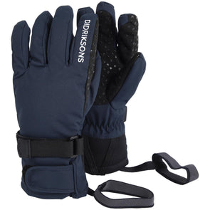 Didriksons Five Youth Waterproof Gloves | Navy