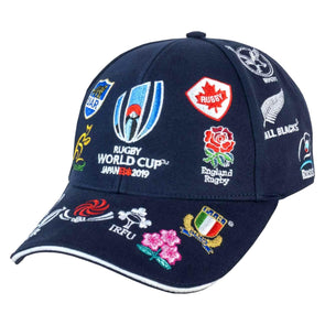 Rugby World Cup 2019 20 Nations Baseball Cap | Navy | Adult