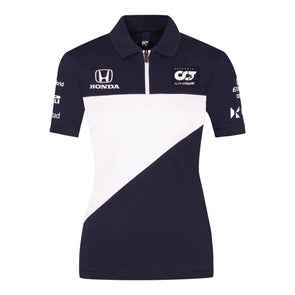 Alphatauri Women's Teamline Polo Shirt | Navy | Adult | 2021