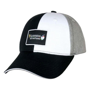 Guinness 6 Nations Rugby Quartered Baseball Cap | Multi | 2021 | Adult