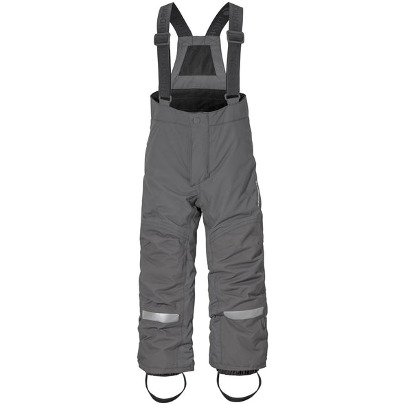 Didriksons Idre 3 Kids Junior Ski Pants Salopettes | Throne Grey