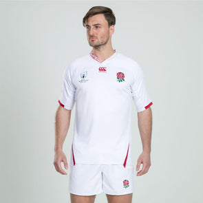 Canterbury Rugby World Cup 2019 England Home Pro Shirt | White | 2019 | Adult