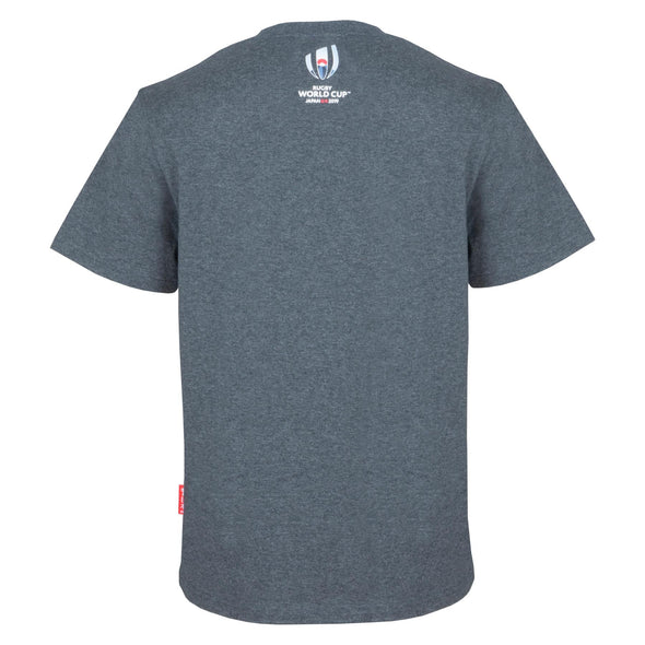 Rugby World Cup 2019 Core Values Graphic T-shirt | Grey | Adult