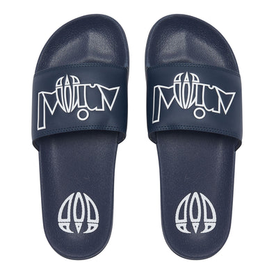Animal Mens Slyde Flip Flops | Dark Navy