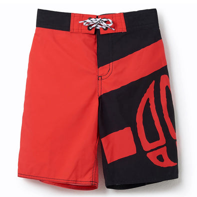 Animal Kids Layka Boardshorts | Watermelon Red