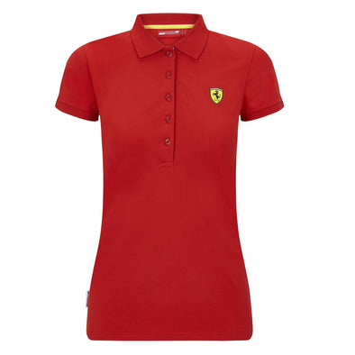 Scuderia Ferrari Women's Classic Polo Shirt | Red | 2020