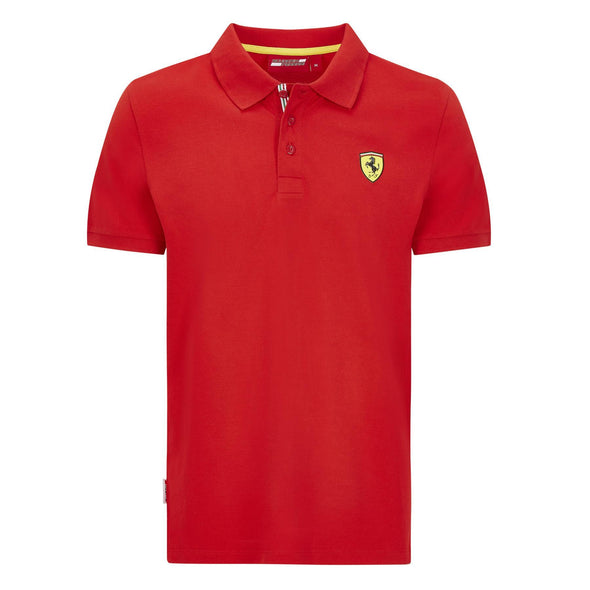Scuderia Ferrari Men's Classic Polo Shirt | Red | 2020