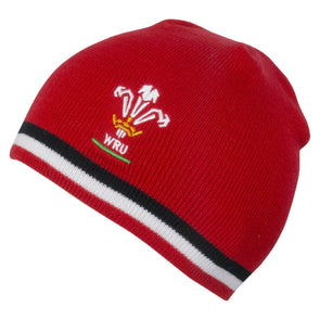 Wales WRU Rugby Beanie Hat | One Size