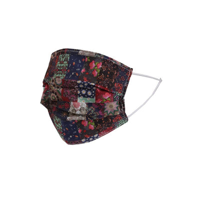 Reusable Cotton Face Masks | Pack of 5 | Multi Print