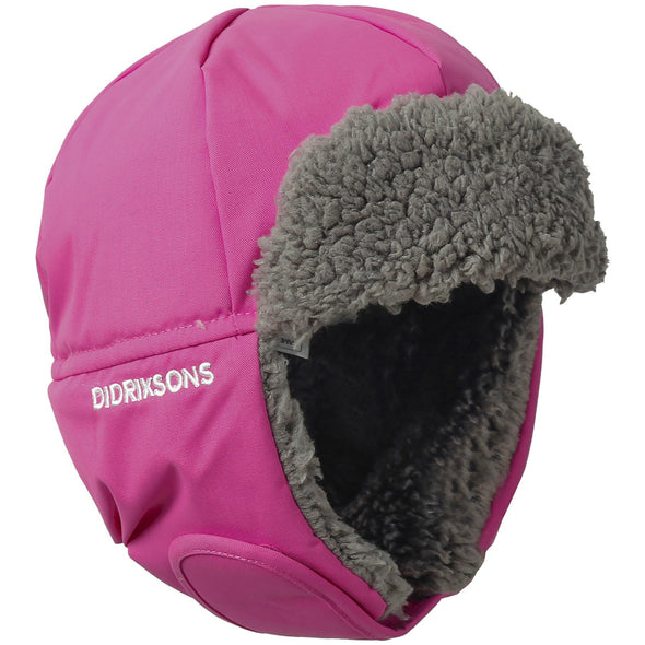 Didriksons Biggles 3 Kids Winter Hat | Pink