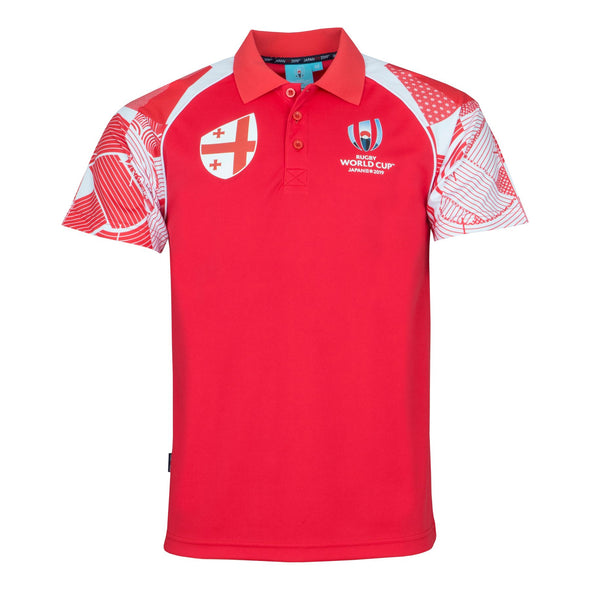 Rugby World Cup 2019 Men's Polo Shirt | Georgia