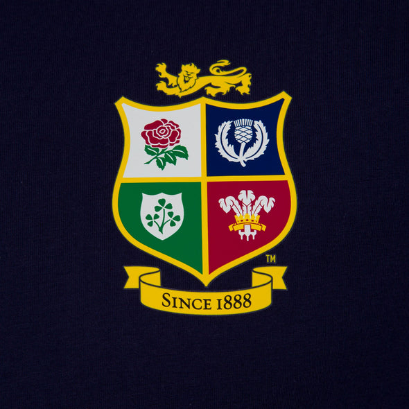 Canterbury British & Irish Lions Rugby Cotton Jersey Tee | Mens | Blue | 2021