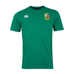 Canterbury British & Irish Lions Rugby Cotton Jersey Tee | Mens | Green | 2021