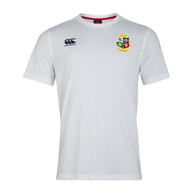 Canterbury British & Irish Lions Rugby Cotton Jersey Tee | Mens | White | 2021
