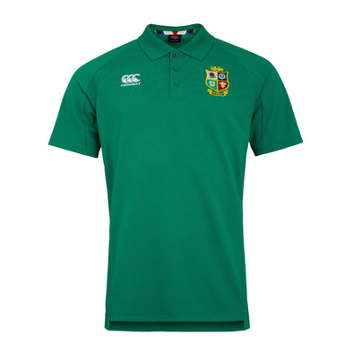 Canterbury British & Irish Lions Rugby Pique Polo | Mens | Bosphorus Green | 2021