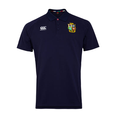 Canterbury British & Irish Lions Rugby Pique Polo | Mens | Peacoat Blue | 2021