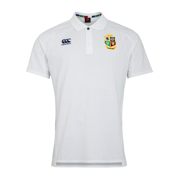 Canterbury British & Irish Lions Rugby Pique Polo | Mens | White | 2021