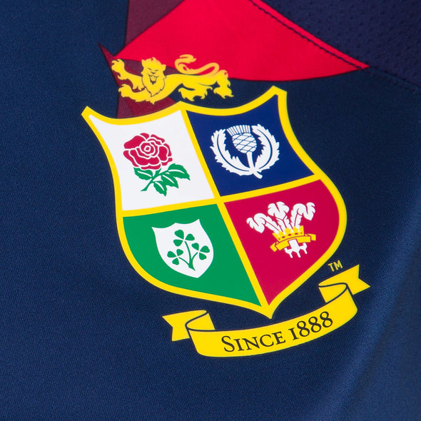 Canterbury British & Irish Lions Rugby Superlight Graphic Tee | Womens | Peacoat Blue | 2021
