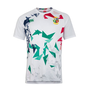 Canterbury British & Irish Lions Rugby Superlight Graphic Tee | Mens | White | 2021