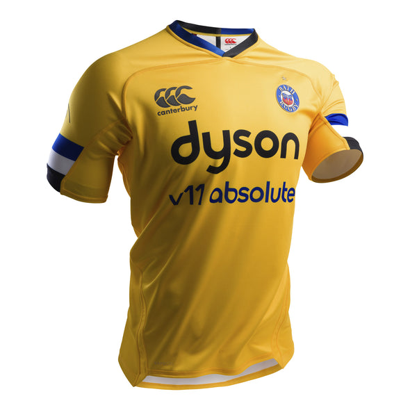 Canterbury Bath Rugby Alternate Pro Shirt | Spectra Yellow | 2019 | Adult