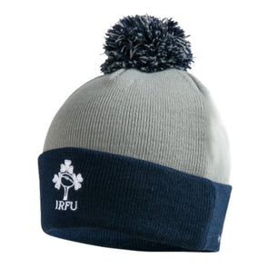 Canterbury Ireland IRFU Rugby Bobble Hat | Static Grey | 2019 | One Size