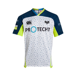 Canterbury Ospreys Rugby Alternate Pro Shirt | White | 2019 | Kids