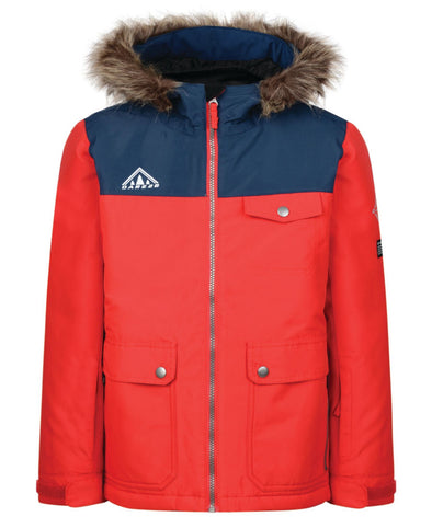 Dare 2b Reckless Kids Winter Ski Jacket Red | 2018